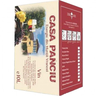 Casa Panciu Babeasca Neagra Rosu Demisec Bag In Box 10L