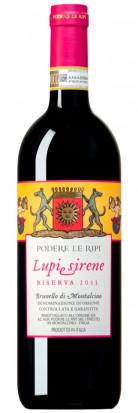 Lupi e Sirene Riserva 2013 Brunello di Montalcino DOCG 0.75L