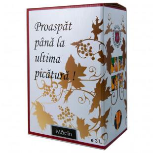 Macin Premiat Merlot Roze Demisec Bag in Box 3L