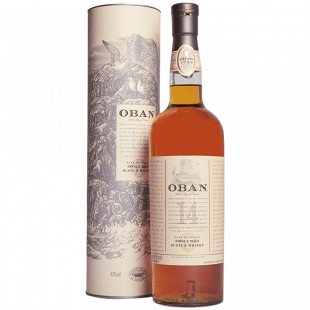 Oban Single Malt Whisky 14 Years Old