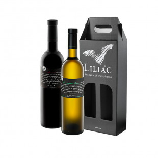 Pachet Liliac Private Selection Merlot + Sauvignon Blanc 0.75L