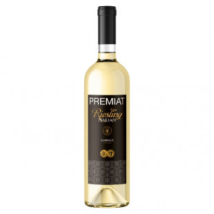 Premiat, Riesling Italian, Demisec, 13.5%, 0.75L
