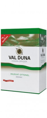 Val Duna Muscat Ottonel Bag in Box 5L