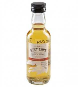 West Cork Blended Irish Whiskey 0.05L