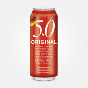 5.0 Original Lager Beer