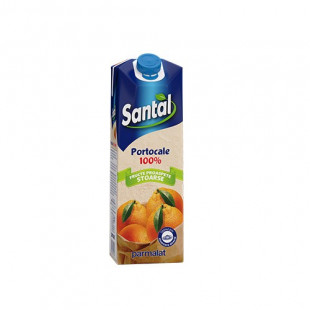 Santal NFC Portocale 100% 0.75L