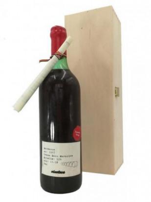 Babeasca Neagra Banu Maracine 1987 Cutie Lemn 0.75L