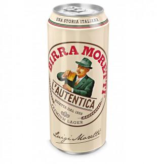 Birra Moretti, Doza 0.5L, Bax, 24 buc