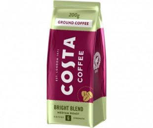 Cafea Costa Bright Blend cafea prăjită și măcinată 0.2kg