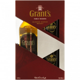 Grant's Blended Whisky 700ml+2 Pahare