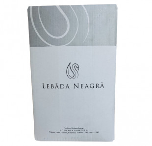 Lebada Neagra Merlot Rose Demidulce Bag in Box 10L