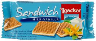 Loacker Sandwich Lapte Vanilie 25g