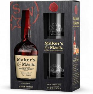 Maker's Mark 0.7L + 2 Pahare