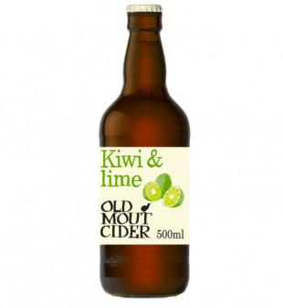 Old Mout Kiwi & Lime, Sticla 0.5L, Bax, 12 buc