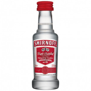 Smirnoff Red No. 21 Vodka 0.05l