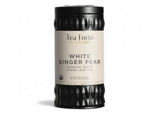 Tea Forte White Ginger Pear - ceai alb pere si ghimbir
