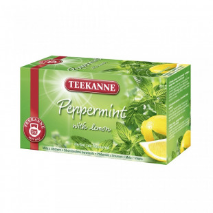 Teekanne Ceai Peppermint Lemon 20X1.8g