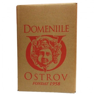Vinaria Ostrov Chardonnay Demisec Bag in Box 10L