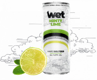 Wet Minty Lime 0.33L