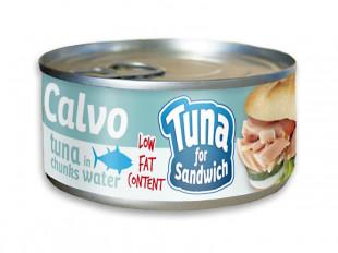 Calvo - Ton In Sos Natur Pentru Sandvis 142g