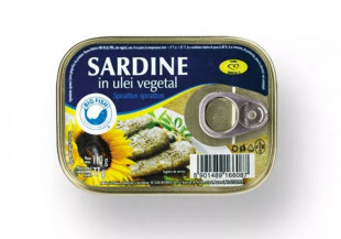 Big Fish Sardine in ulei 110g