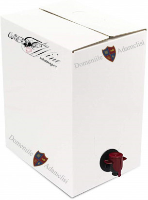 Domeniile Adamclisi Vin de Masa Rosu Demisec Bag in Box 20 L