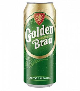 Golden Brau, Doza 0.5L, Bax, 24 buc