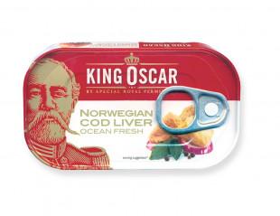 King Oscar Ficat de Cod 121g
