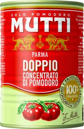 Mutti Dublu Concentrat de Rosii 440g