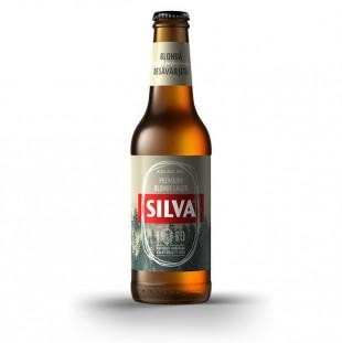 Silva Premium Blonde Lager, Sticla 0.33L, Bax, 24 buc