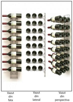 Suport Cromat 24 Sticle VRM8N3C