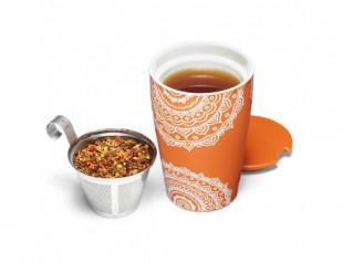 Tea Forte cana ceramica Kati Chakra
