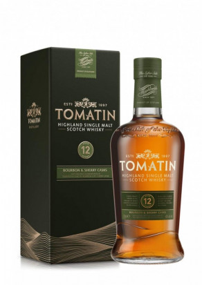 Tomatin Single Malt Scotch Whisky 12 YO