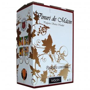Macin Premiat Muscat Ottonel Alb Demidulce Bag in Box 3L