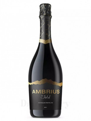 Ambrius by Ikel Spumant Aprisecco Alb Brut 0.75L