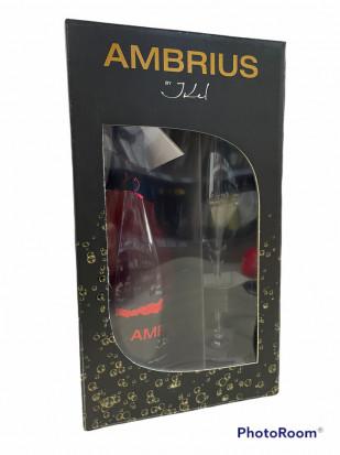Ambrius by Ikel Spuman Aprisecco Rose Pahar 0.75L