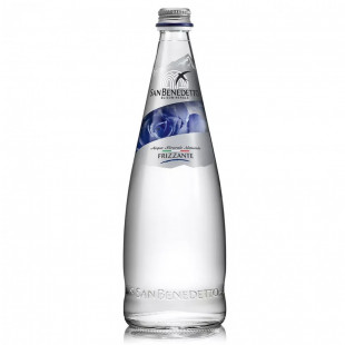 Apa carbogazoasa San Benedetto Sticla 750ml