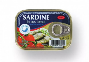 Big Fish Sardine in sos tomat 110g