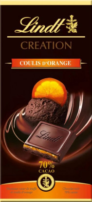 Lindt Ciocolata 70% Orange 150g