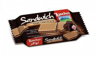 Loacker Sandwich Dark Chocolate 25g
