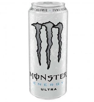 Monster Ultra White Zero Zahar, Doza 0.5L, Bax 12 buc