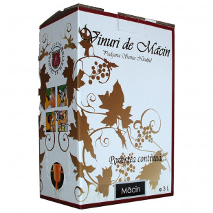 Macin Premiat Chardonnay Demisec Bag In Box 3L