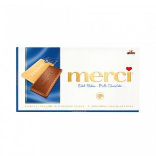 Ciocolata Merci tableta lapte 100g