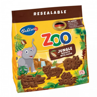 Biscuiti Leibniz Zoo Cacao 100g