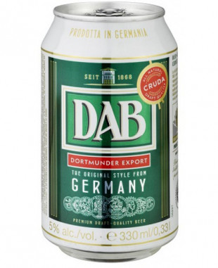 Dab Dortmunder Export Doza 330 ml
