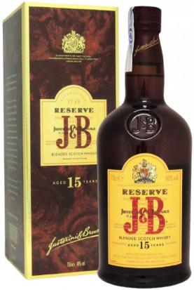 J&B Reserve 15 YO 0.7L
