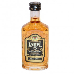 Label 5 Classic Black Scotch Whisky 50ml