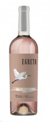 Lebada Neagra Egreta Merlot Rose Demidulce 0.75L