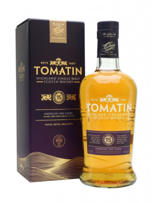 Tomatin Single Malt Scotch Whisky 15 YO