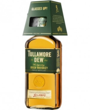 Tullamore DEW Irish Whisky Original 0.7L + Pahar